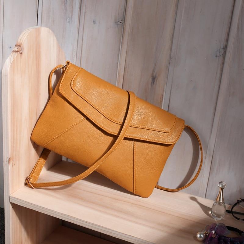 Fashion Women Mini Shoulder Messenger Bag PU Leather Satchel Handbag  Crossbody Bags FA B Women bag 26edd31fb