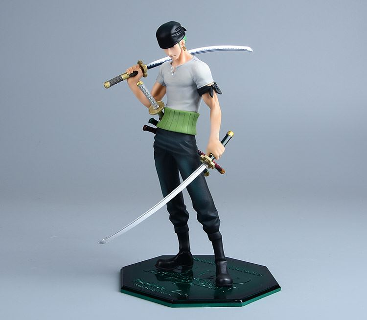 Anime One Piece Roronoa Zoro POP DX Figurine Japanese PVC 26CM Action Figure Collectible Model Doll Kids Toys