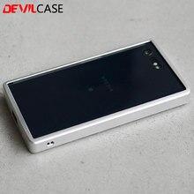 Devilcase для Sony Xperia X Compact 4.6 дюйма защитный алюминиевый бампер frame ЧПУ вырез XC мобильного телефона металлических корпусах