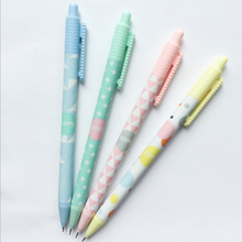 4pcs/lot Cute Simple style series  Automatic Pen Activity Pencil office school Stationery supplies 0.5mm