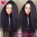Brazilian Lace Wigs Kinky Straight Hair Full Lace Wig Italian Kinky For Black Women 150% Density Virgin Unprocessed Wigs