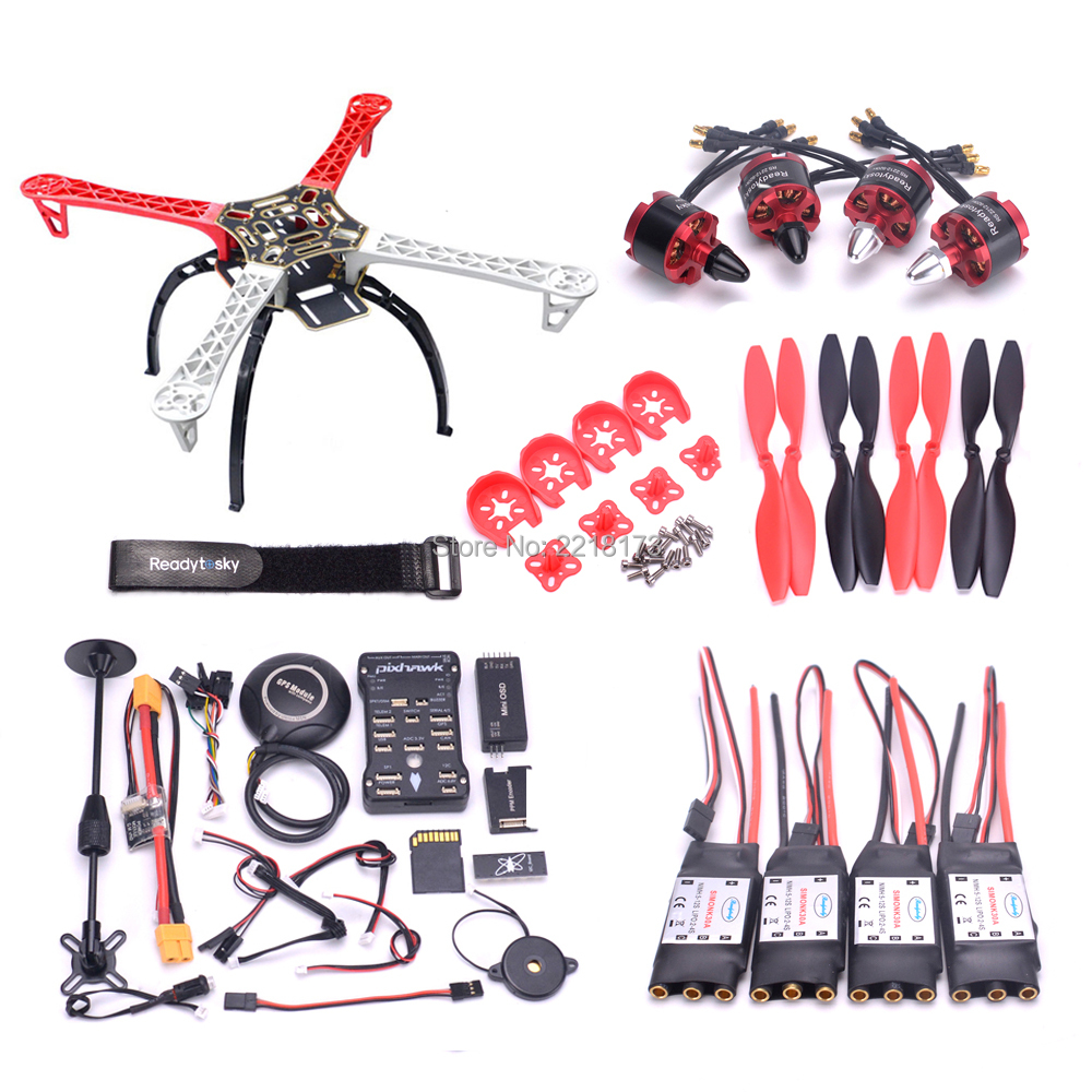 F450 / S500 500 PCB Quadcopter Frame Kit Pixhawk PIX 2.4.8 Controller board M8N GPS Mini OSD PM 2212 920kv motor 30A simonk ESC used formatter board logic main board for epson l1300 me1100 t1100 t1110 b1100 w1100 1100 pca assy mainboard mother board