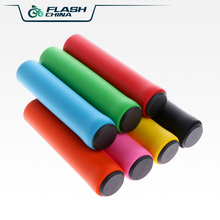 Bike Handlebar Racing Bicycle Handle Bicycle Accessories 7 colour Ultralight silicone sponge Soft Grip Cover Anti-slip Handlebar цена