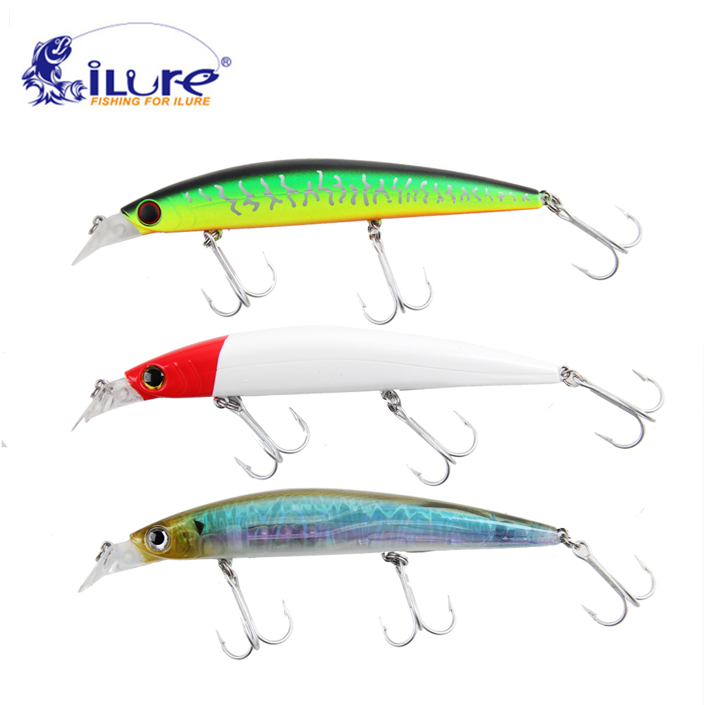 iLure 3pcs/lot fishing bait minnow 24g 14.5 cm fishing bait ball glass hard bait minnow Pesca hook VMC fishing tackle crankbait 1pcs 12cm 14g big wobbler fishing lures sea trolling minnow artificial bait carp peche crankbait pesca jerkbait ye 37