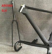 2019 Aero дороги углерода велосипедная Рама с вилкой гарнитура зажим подседельный T800 Ud ткань и диск SLX команда велосипед много цвет 15 5 Размеры