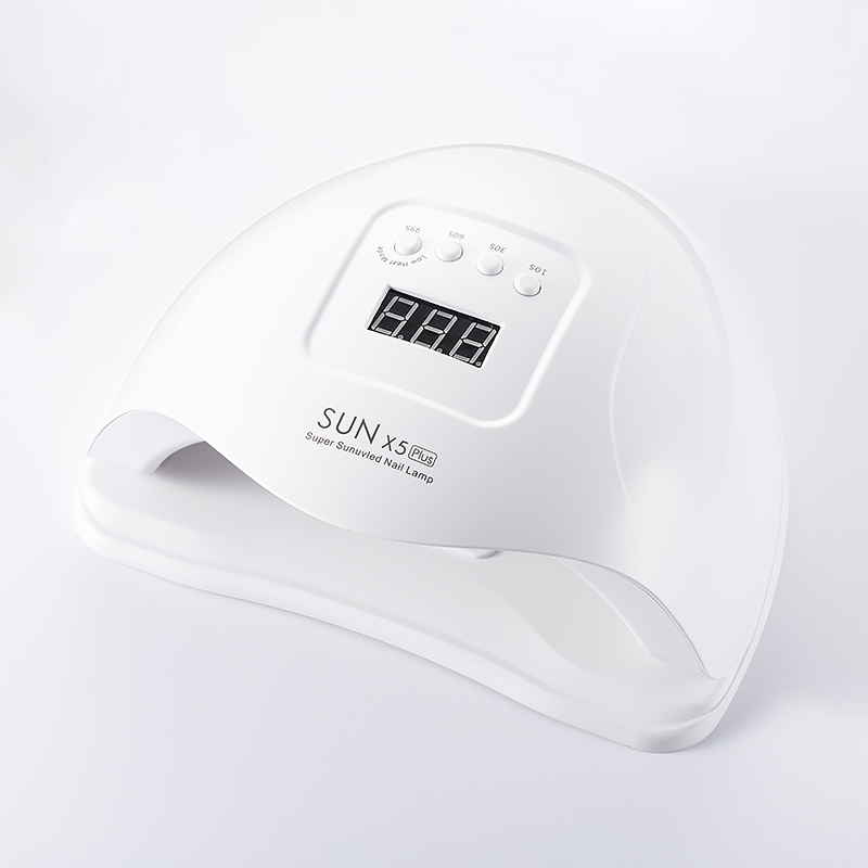 <font><b>80W</b></font> <font><b>UV</b></font> <font><b>LED</b></font> Nail <font><b>Lamp</b></font> for Fast Curing All Type <font><b>UV</b></font> Gel Polish Manicure Nail Machine Professional Drying Fingernail Nail Dryer image