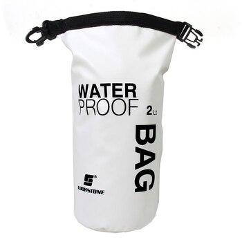 2L Odkryty Sport Dry Bag Wodoodporny Plecak Żeglarstwo Rafting Kajakarstwo Pływanie Camping Piesze Wycieczki Kamery Telefonu Przechowywania Pływające Worek