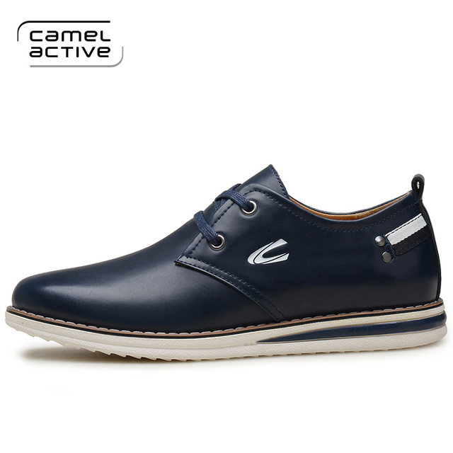 Camel Active hot sale men shoes genuine leather shoes fashion Casual shoes  men's office Shoes wholesale