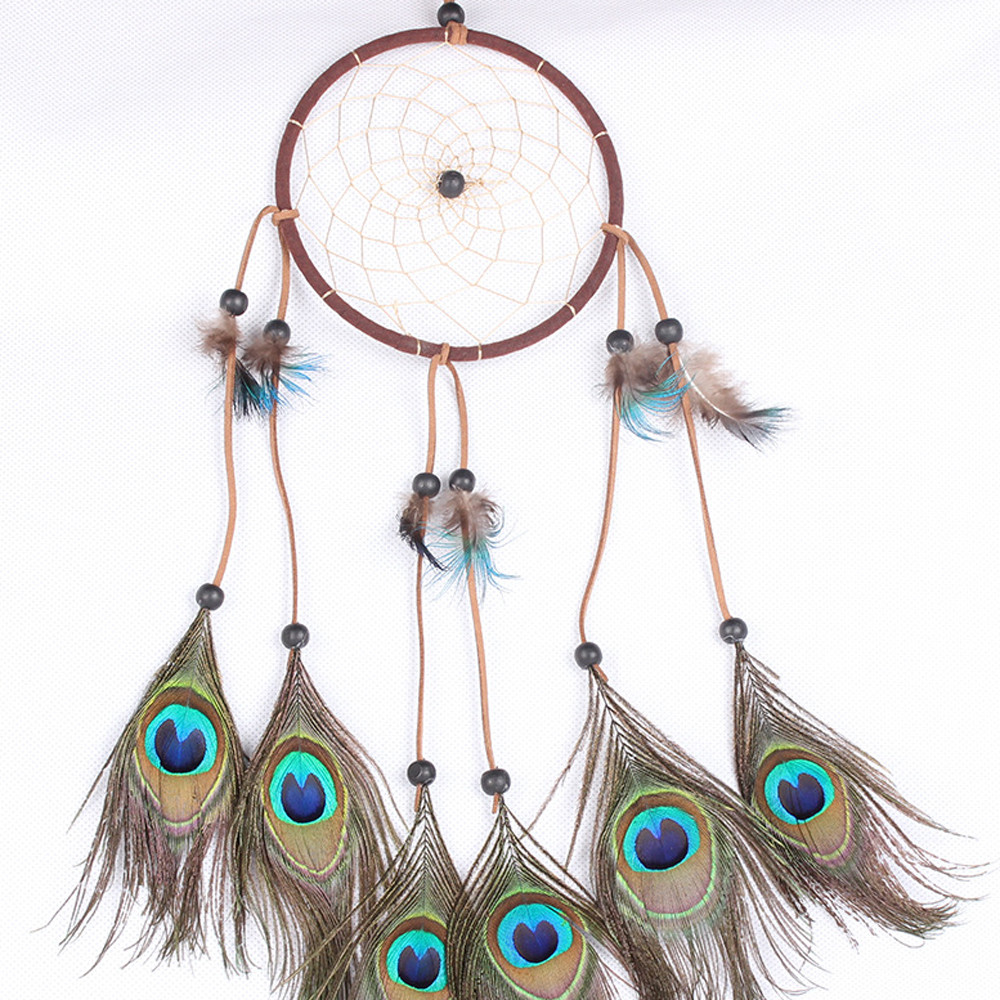 Outdoor hanging ornaments - Handmade Craft Gift Dream Catcher Wind Chimes Outdoor Hanging Gift Home Decor Dream Catcher Car Hanging