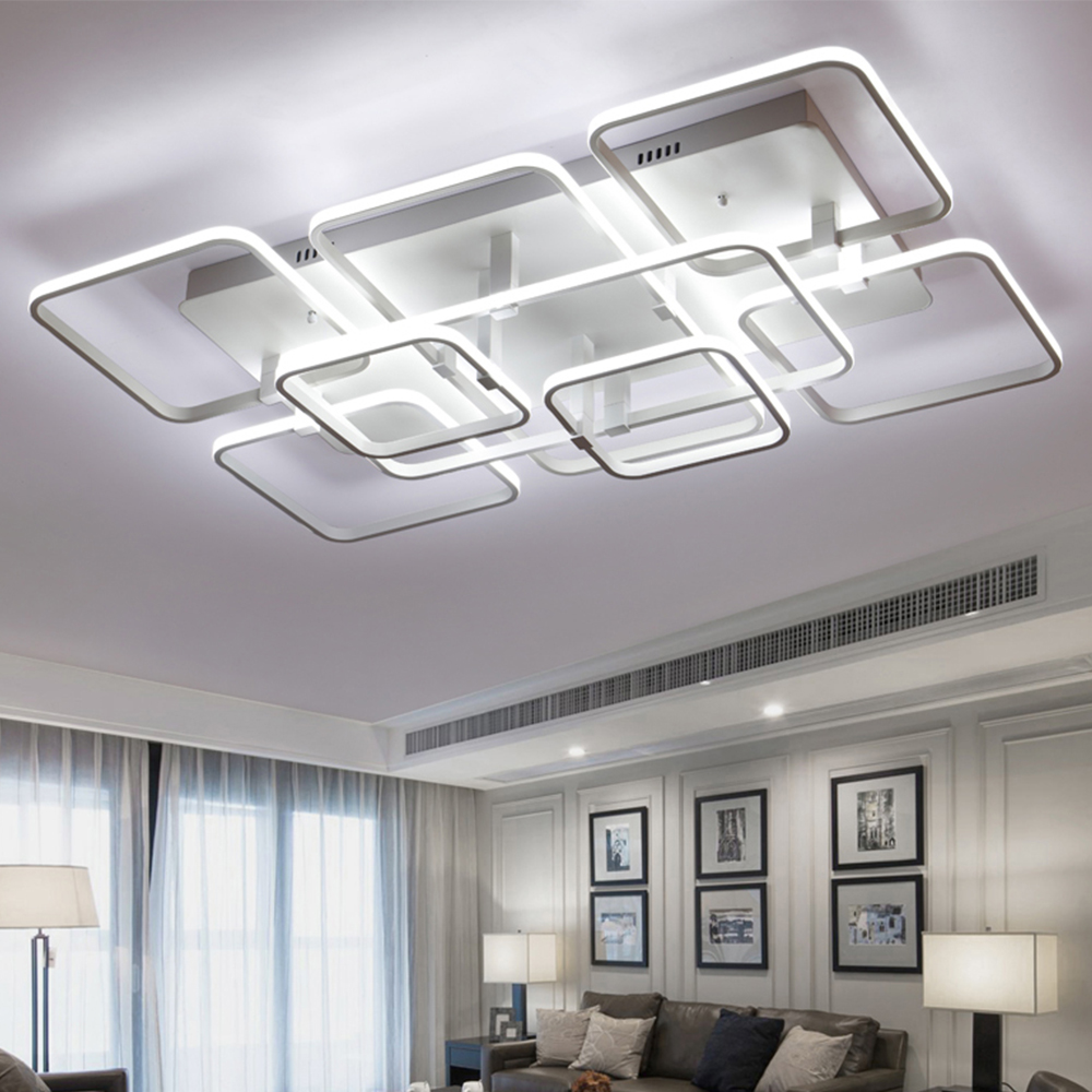cool ceiling lighting. Designer Ceiling Lamp Modern LED Light Remote Control Brightness Dimmable Luminaria 9 Head Mount Flush A?8\u003d\u003d5@-in Lights From Cool Lighting L