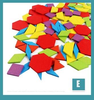 ילדים חדשים עץ 3D פאזל חכם לוח תינוק מונטסורי חינוכי למידה צעצועים לילדים צורה גיאומטרית חידות צעצוע 31