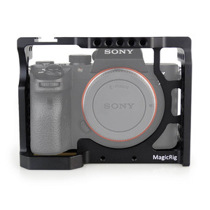 Image 1 - MAGICRIG Camera Cage With Standard Cold Shoe For Sony A7RIII/A7RII/A7MII/A7SII/A7III/A7II Camera To Quick Release Extension Kit