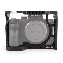 Magicrig Camera Kooi Met Standaard Koude Schoen Voor Sony A7RIII/A7RII/A7MII/A7SII/A7III/A7II camera Om Quick Release Extension Kit