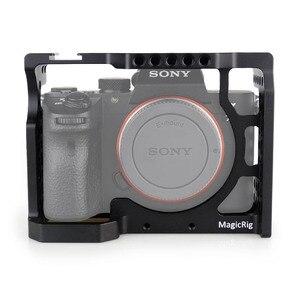 Image 1 - Magicrig Camera Kooi Met Standaard Koude Schoen Voor Sony A7RIII/A7RII/A7MII/A7SII/A7III/A7II camera Om Quick Release Extension Kit