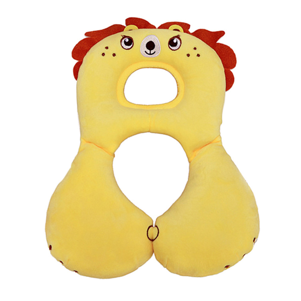 Pretty Cute Baby Head Neck Protection Pillow Safety Seat Pillow For 0-4 Years Old Kids Toddler Children Travel Accessories