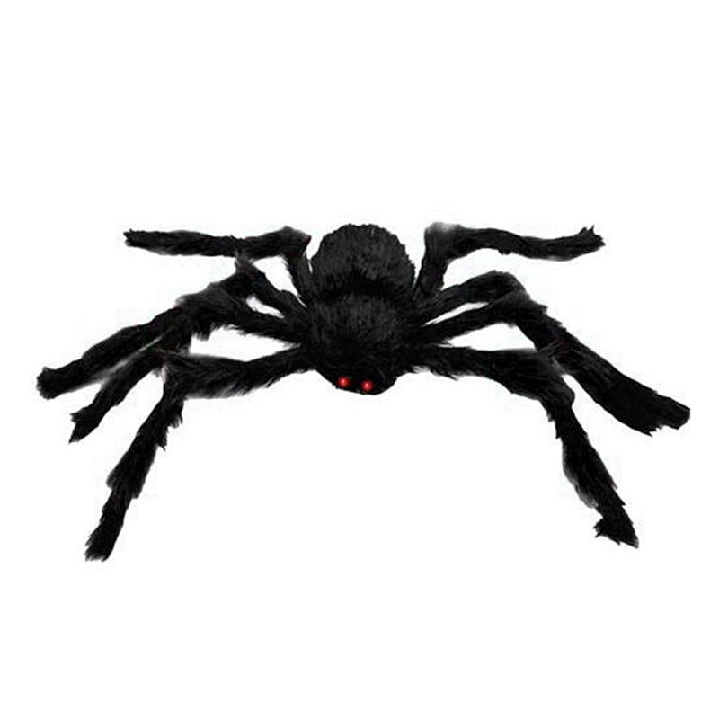 30Cm/50cm Scary Spooky Spider Plush Toy Halloween Party