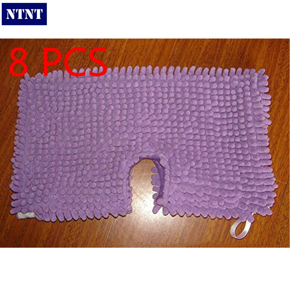 NTNT Free Post Ship New 8x Washable Microfibre Coral Steam Mop Cloth For Shark Pad S3501 S3601 S3901 стоимость