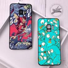Anime for Funda Samsung Galaxy S9 Plus Case S7 edge New Arrival S8 Cover