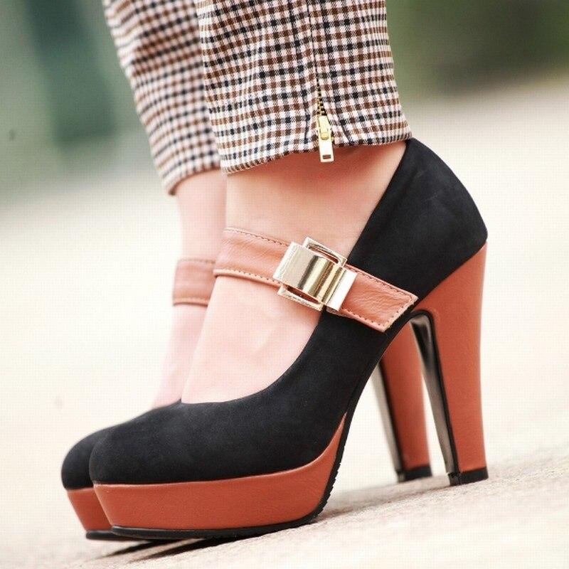 Aliexpress.com : Buy Fashion Women Pumps Sexy Mary Jane High Heel ...