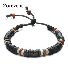 Fashion Casual Jewelry Unisex Clay Charm Bracelets Handmade Beaded Hand Rope Chain Ceramic Bracelet For Women Men Gifts(China)