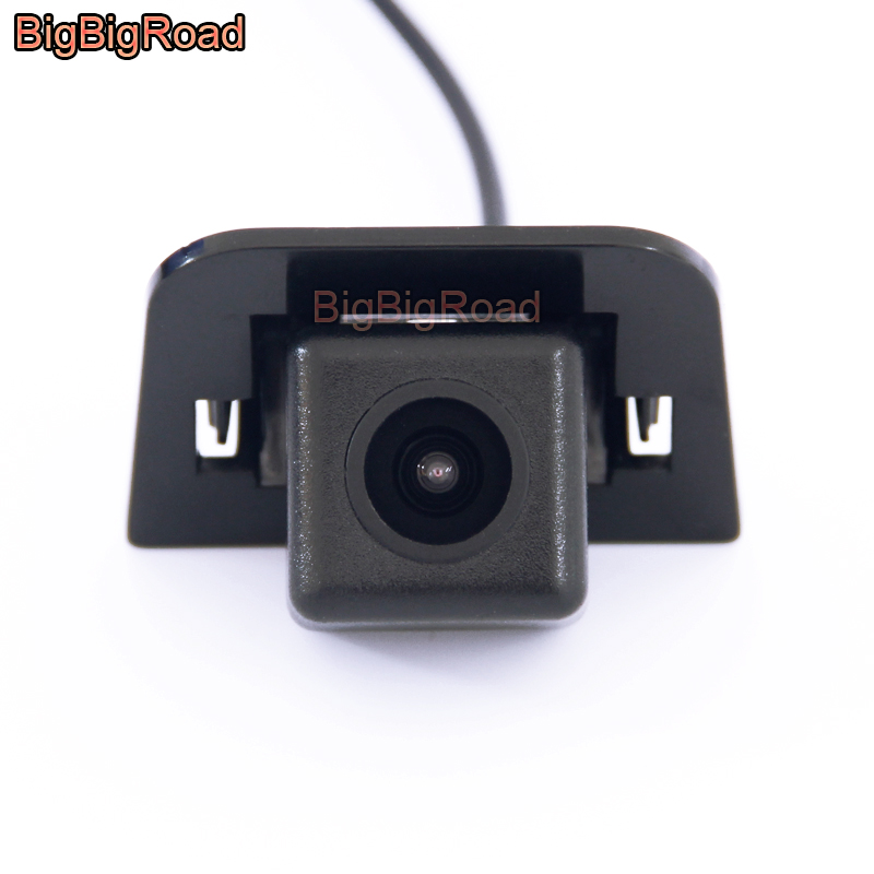 BigBigRoad Car Rear View Parking CCD Camera For Toyota Prius 2012 2013 2014 Night Vision Waterproof Backup Camera