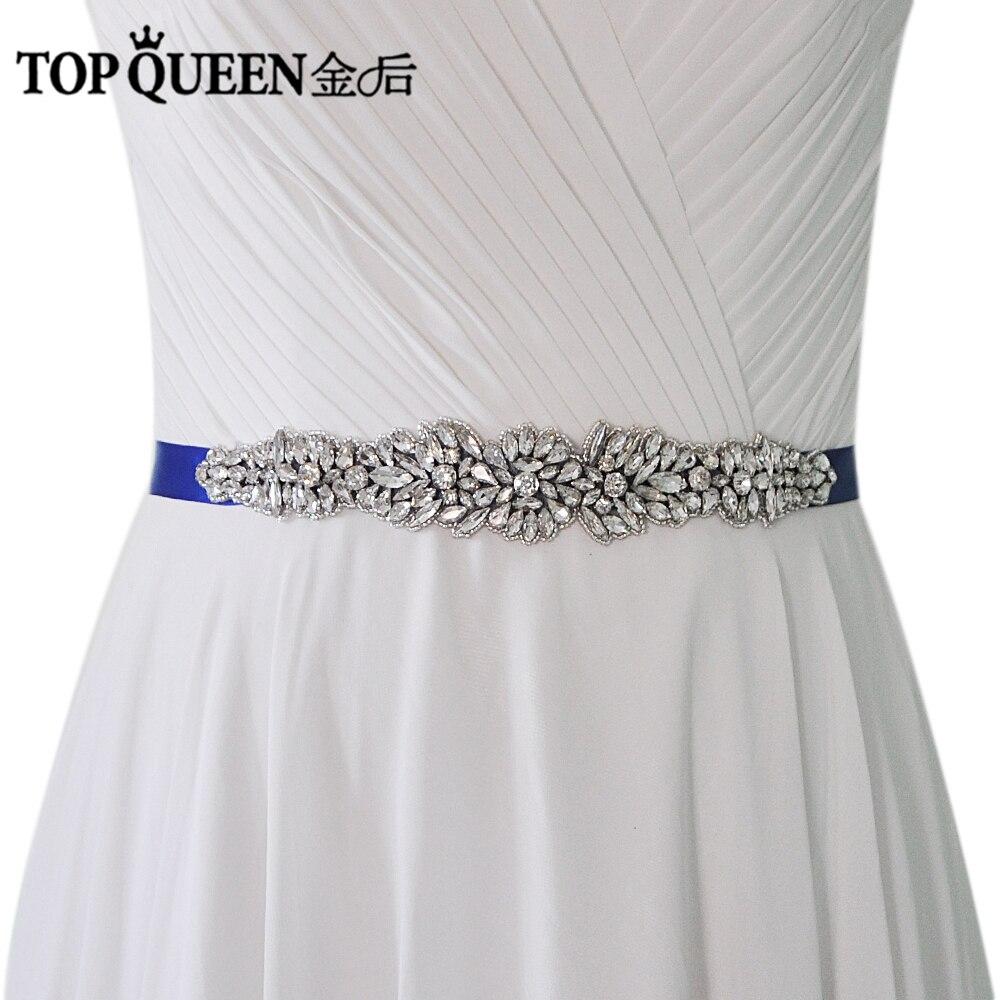 Unique Wedding Dress Sashes Belts: TOPQUEEN S334 Wedding Dress Belts Sash Cocktail Dresses
