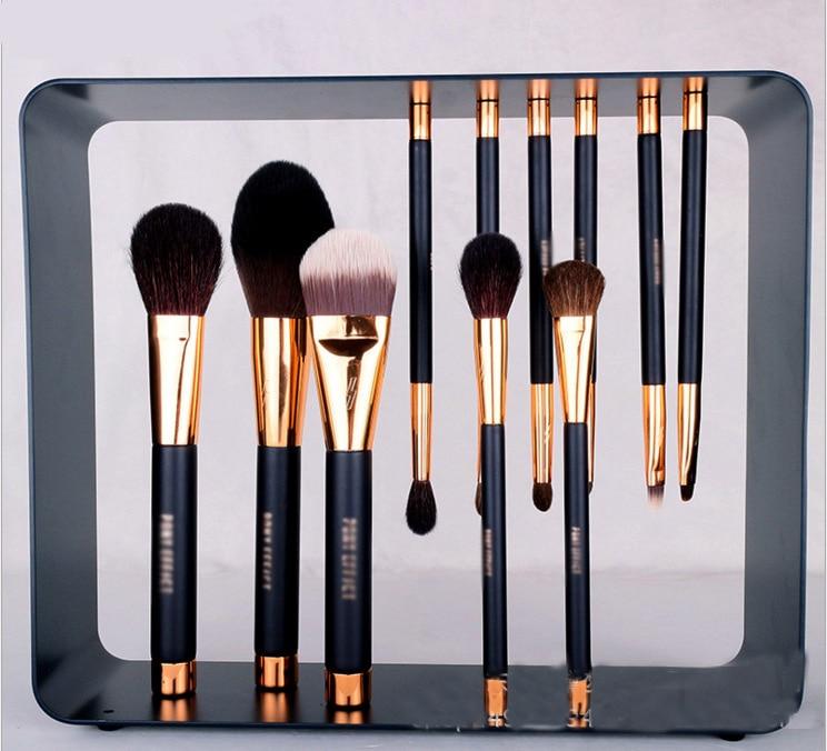 11 Pcs Professional Magnet Makeup Brush Makeup Brushes Set Make Up Tools 7 pcs make up brushes for make up professional eye shadow foundation eyebrow lip makeup brush suit make up tools