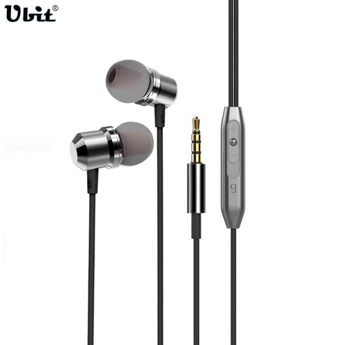 Ubit Metal Magnetic In-Ear Earphone For Phone With HD Microphone 3D Stereo Earphones For iPhone Samsung Earpiece Earbuds plextone x53m magnetic metal mega bass in ear earphone for iphone 4s 5 6s samsung s6 s7 lg g3 g5 mobile phone earphones with mic
