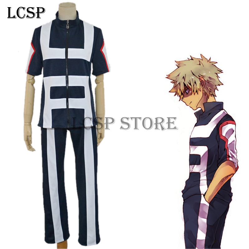 Us 45 04 15 Off Lcsp My Hero Academia Bakugou Katsuki Cosplay Costume Japanese Anime Adult School Uniform Suit Outfit Clothes In Anime Costumes From