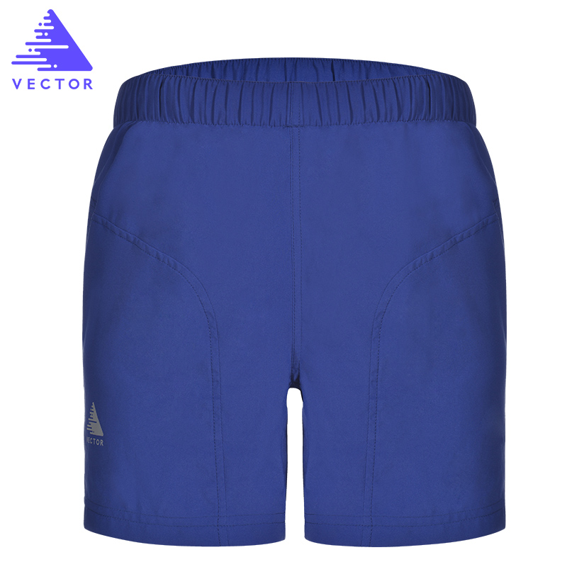 VECTOR Quick Dry Running Shorts Breathable Gym Sports Shorts Polyester for Outdoor Double Lining Man Woman Fitness Shorts