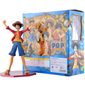 Anime One Piece Portrait Of Pirates Monkey D Luffy Sailing Again The New World PVC Action Figure Collectible Model Toy Doll 22cm