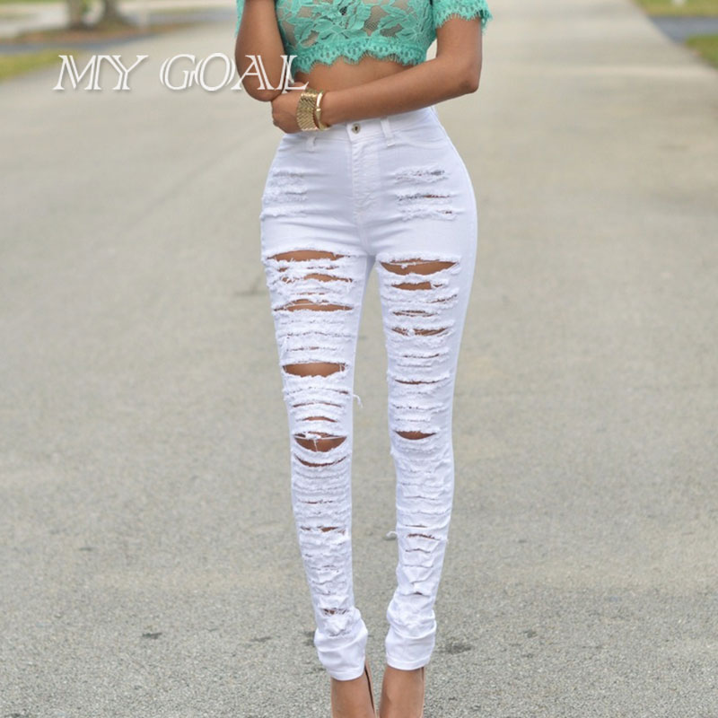 Online Get Cheap Girls White Skinny Jeans -Aliexpress.com ...