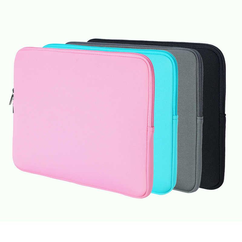 """Сумка для ноутбука, чехол для ноутбука 11 """"12"""" 13 """"14"""" 15 дюймов для lenovo Macbook Air, защитный чехол для планшета на молнии"""