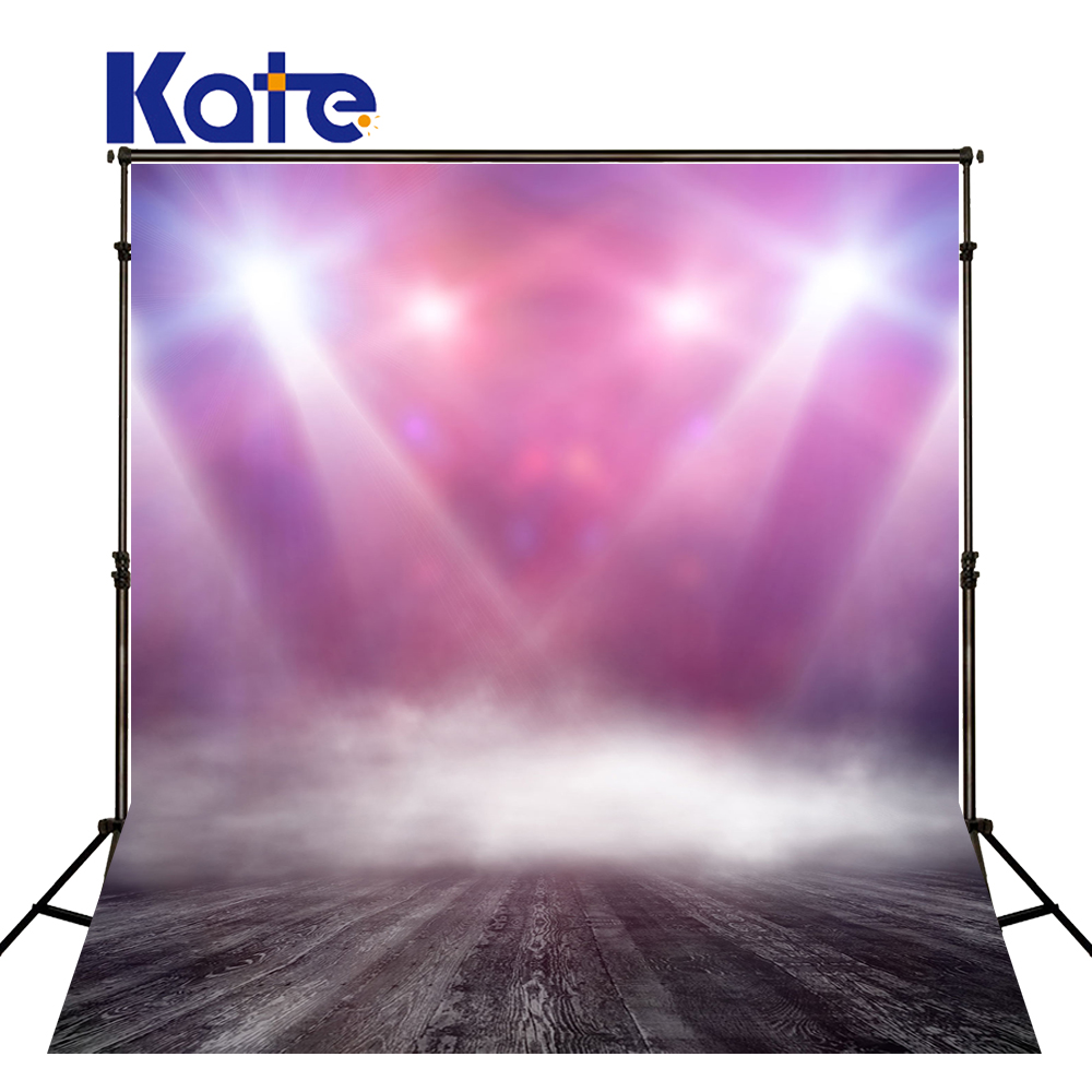 KATE Photography Background Lamplight Stage Backdrop Christmas Stage Backdrops Pink Hollywood Style Photo Wood Floor Backgrounds kate christmas photo background wood wall and wood floor yellow lights for children photography backdrops stage backgrounds