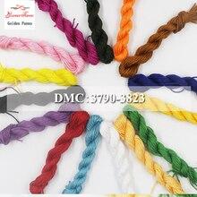 Золотое панно сделай сам DMC 3790-3823 вышивка нитью нити 10 шт./партия 1,2 м Набор для вышивки крестиком наборы для вышивки крестом 11,12