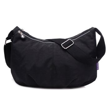 e7170e573 Bolsas de mensajero para mujeres, de Nylon bolso de hombro Bolsos Mujer  bolsos marcas famosas diseñador bolsos bandolera de mujer Bolsa Sac  principal