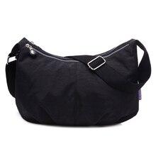 Kadın postacı çantası Naylon Hobo omuz çantaları Çanta Kadın Ünlü Markalar Tasarımcı Crossbody Çanta Kadın Bolsa Ana Kesesi