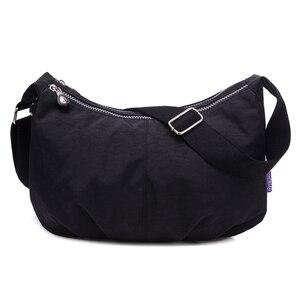 Image 1 - Phụ nữ Sứ Giả Túi Nylon Hobo Shoulder Bags Túi Xách Phụ Nữ Thương Hiệu Nổi Tiếng Thiết Kế Túi Crossbody Nữ Bolsa Sac MỘT Chính
