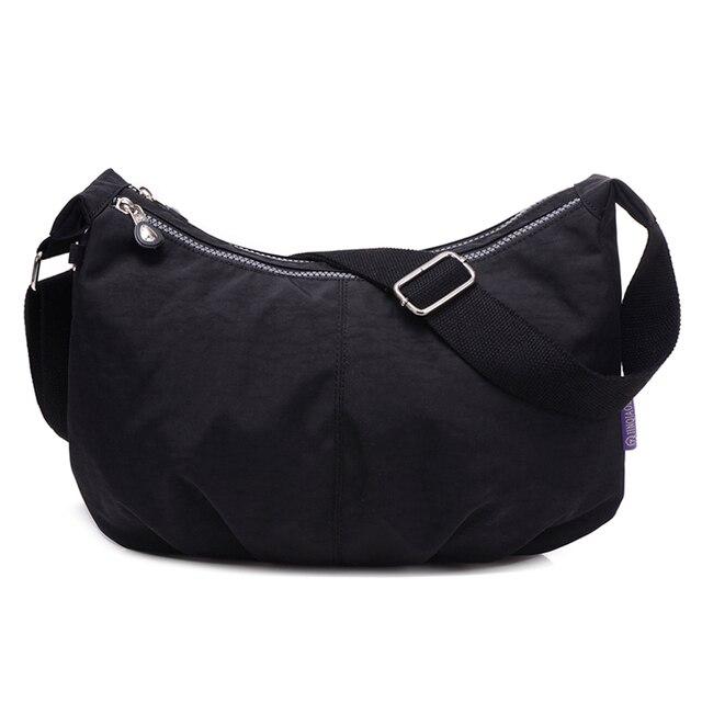 Phụ nữ Sứ Giả Túi Nylon Hobo Shoulder Bags Túi Xách Phụ Nữ Thương Hiệu Nổi Tiếng Thiết Kế Túi Crossbody Nữ Bolsa Sac MỘT Chính