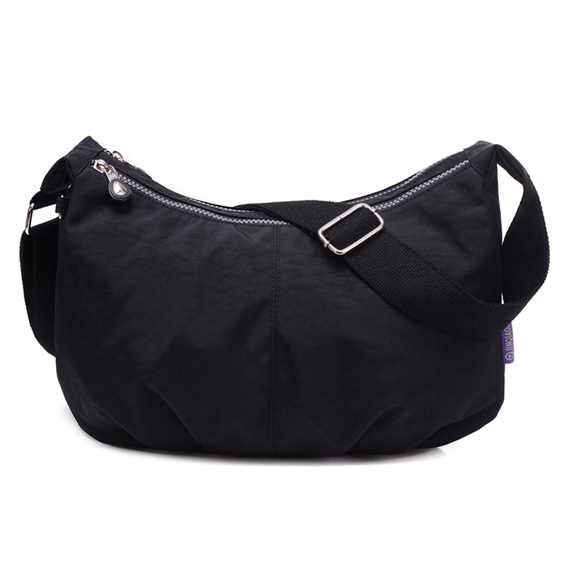 Women Messenger Bags Nylon Hobo Shoulder Bags Handbags Women Famous Brands Designer Crossbody Bags Female Bolsa Sac A Main