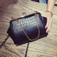 Simple Alligator Crocodile PU Leather Mini Small Women Crossbody Bag Messenger Shoulder Purse Handbag Fashion Girl