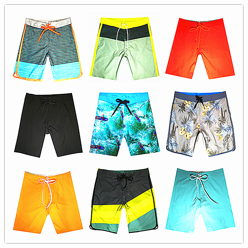 Wholesale Retail 2018 Brand Phantom Men Beach   Board     Shorts   Swimwear 100% Quick Dry Bermuda Mens Boardshort Elastic Bathing   Short