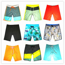 Wholesale Retail 2019 Brand Phantom Men Beach Board Shorts Swimwear 100% Quick Dry Bermuda Mens Boardshort Elastic Bathing Short(China)