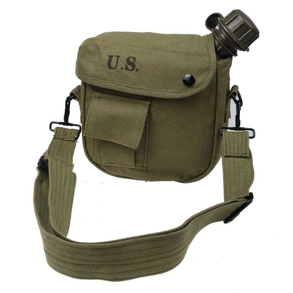 United Military Vietnam War Us Army Canteen And Cover Set Ideal Gift For All Occasions Sports Souvenirs