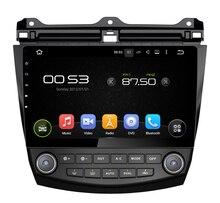 Navirider 2GB ram Android 7.1.2 HD CAR DVD player for HONDA ACCORD 7 2003-2007 audio gps car radio head unit Multimedia 3G wifi