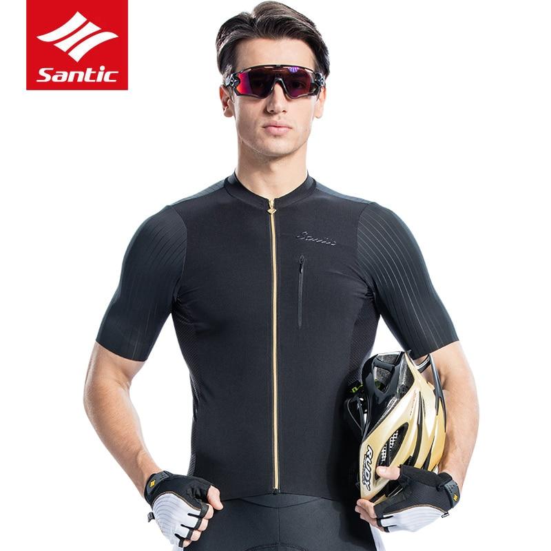 2018 Men Cycling Short Sleeve Jerseys Breathable Anti Pilling Imported Italian Fabric Cuffs MTB Road Bike