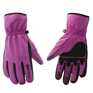 Image 5 - BOODUN Men Women Ski Gloves Winter Thermal Fleece Warm Breathable Snowboard Sports Windproof Waterproof Snow Skiing Gloves