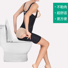 2019 New M-4XL Bodysuit Women Body Shaper Waist Trainer Slimming Underwear Shapewear Training Corsets Tummy Control Easy to WC