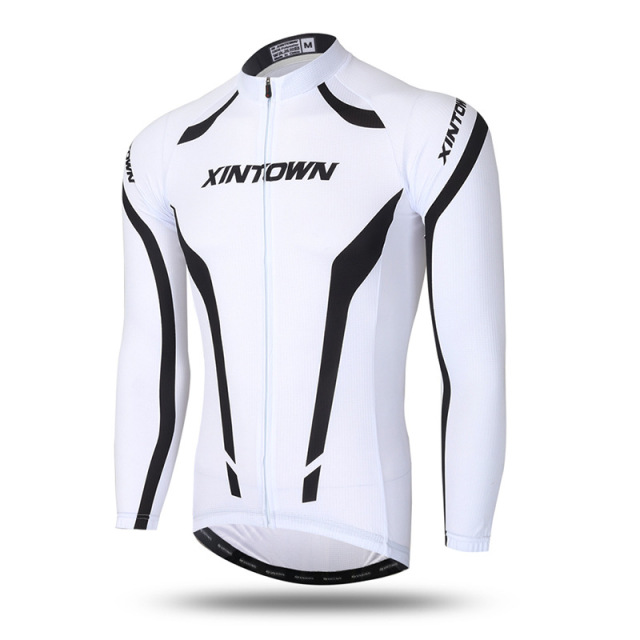 XINTOWN Cycling Jersey Winter Thermal Fleece MTB Bicycle Windproof Jacket  Outdoor Cycling Sportswear Long Sleeve Coat Jersey dd1072887