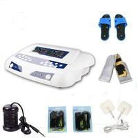 2017 newest spa machine detox foot spa machine with FIR belt Massager slipper Ion Cleanse Foot Spa Machine ionic detox foot bath